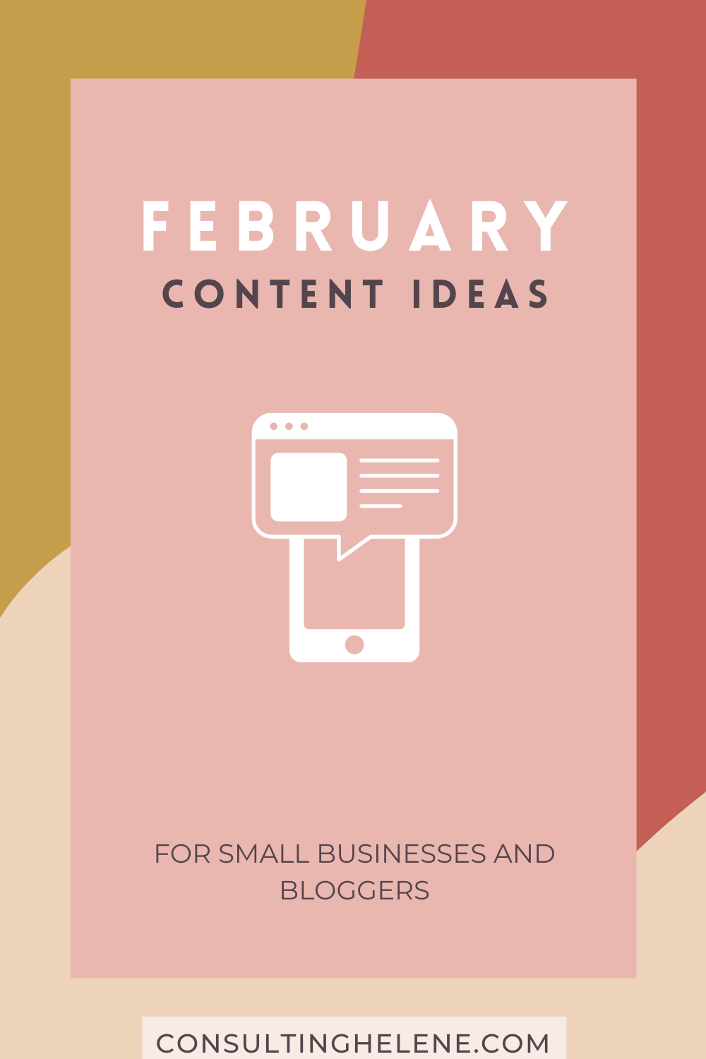 Content Marketing Ideas for February