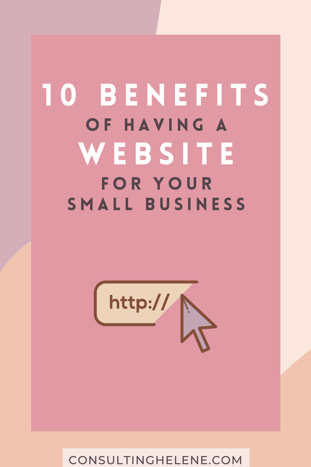 Benefits to having a website pin for Pinterest