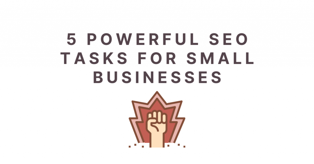 seo tasks for small businesses